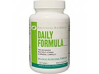 Daily Formula Universal Nutrition 100 tabs. Витамины+Минералы