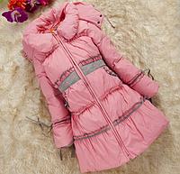 Зимнее пальто-пуховик на девочку, фото 1
