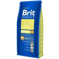 Brit Premium Junior M для щенков и молодых собак средних пород 15кг
