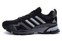 Женские кроссовки  Adidas Marathon 15 (адидас марафон) черные