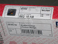 Кольца поршневые BMW 84,00 M47D20/M57D30 3x2x3 ( Mahle), 083 18 N0