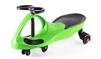Smart car green с полиуретановыми колесами