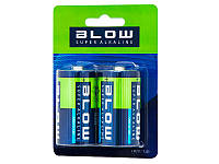 Батарейка BLOW SUPER ALKALINE LR20/D blist 2шт упаковка