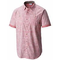 Мужская рубашка Columbia DYER COVE™ SHORT SLEEVE SHIRT  коралловая AO1103 683