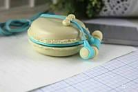 Популярные наушники Macarons Sibyl M-85, бежевый