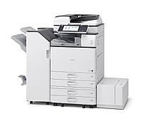 Производительный МФУ Ricoh Aficio MP 6054SP для не больших офисов. Монохромная печать разрешения 1200 dpi, фор