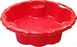 Детская песочница с тентом 10340 (Красный), фото 3