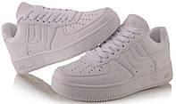 Спортивная женская обувь, кроссовки стильные белого цвета