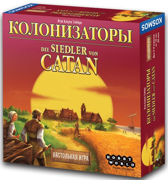 Настольная игра Колонизаторы (The Settlers of Catan) Hobby World
