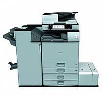 Производительный МФУ Ricoh Aficio MP 6054ZSP со смарт панелью. Монохромная печать разрешения 1200 dpi, формата