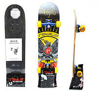Скейтборд в сборе (роликовая доска) RADIUS RAD-110A (колесо-PU, р-р деки 76х18,5х1,1см, АВЕС-5)