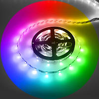 Светодиодная лента SMD 5050 60 диодов/метр  RGB