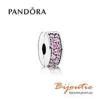 Pandora шарм-клипса ВЕЧНАЯ КРАСОТА №791817PCZ серебро 925 Пандора оригинал