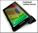 Синий чехол книжка для Lenovo Tab 2 A7-30 с магнитами в эко коже PU, фото 9