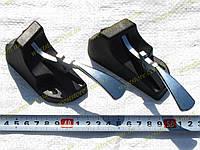 Защелки заднего сидения (ручки) Ваз 2102,2104,2121 нива (к-кт 2шт) ДААЗ, фото 1