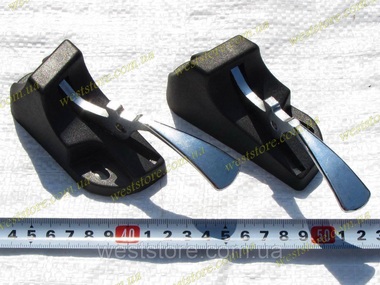 Защелки заднего сидения (ручки) Ваз 2102,2104,2121 нива (к-кт 2шт) ДААЗ
