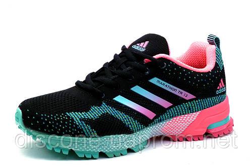 Кроссовки Adidas Marathon TR 13, женские/подросток, черные