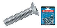 Блистер винт с головкой потай DIN 965 5х40 (12 шт.)