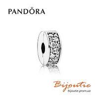 Pandora шарм-клипса ВЕЧНАЯ КРАСОТА №791817CZ серебро 925 Пандора оригинал