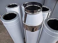 Труба для дымохода из нержавеющей стали утепленная (сэндвич) ф160мм