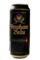 Темное пиво Stephans Brau 500мл Стефан Брау