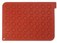 Силиконовый коврик для макаронс на 24 шт 30x40х1,5 мм Silikomart MAC01/C