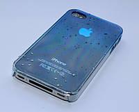 Чехол для iPhone 4 4S 3D капли дождя, фото 1