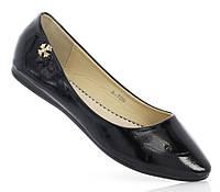 Туфли лодочки черного цвета   размеры 36-41