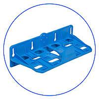 """Кронштейн для корпусов 5"""" и 10"""", двойной пластиковый, FXBR2PN"""
