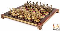 Эксклюзивные шахматы ручной работы Manopoulos - Титаны