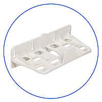 """Кронштейн для корпусов 5"""" и 10"""", двойной пластиковый, FXBR2PN-W"""