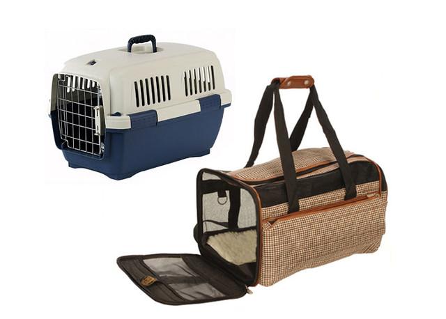 Переноски и туалеты для домашних животных