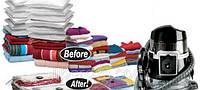 Вакуумные пакеты (чехлы) для хранения вещей, размер 60*80 см
