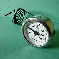 Термометр капиллярный d=60мм. t=120°,Lкап=1м. Pakkens