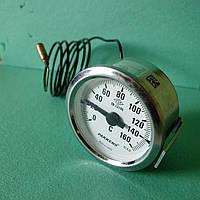 Термометр капиллярный d=60мм. t=160°,Lкап=1м. Pakkens