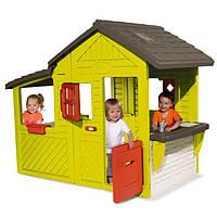 Домик-котедж с кухней и звонком Smoby 310300