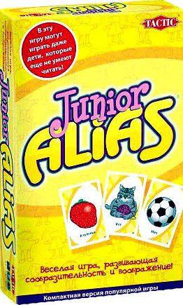 Компактная настольная игра ALIAS Junior (Скажи иначе) Tactic