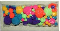 Набор текстильных помпонов Краски лета