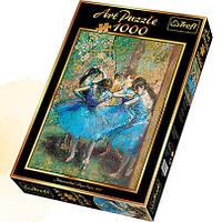 """Пазлы Арт """"Танцовщицы в голубом"""" Trefl 10361, 1000 деталей"""