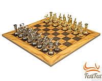 "Деревянные шахматы Manopoulos ""Оливковый совет"""