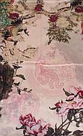Красивый женский шелковый шарф 178*51 ETERNO (ЭТЕРНО) ES2711-2