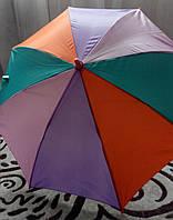 Зонтик детский яркий Радуга, полуавтомат FEELING RAIN, разные цвета