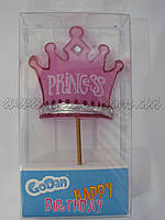 """Свічка """"Корона принцеси"""""""
