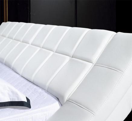 Кровать двухспальная Симфония цвет белый Plombier 8030509. Кровать Freestyle.