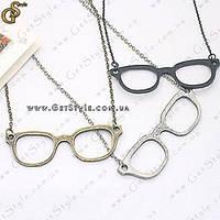 """Украшение на цепочке """"Cool Glasses"""", фото 1"""