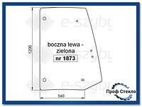 Стекло экскаватор-погрузчик Komatsu WB91R WB93R WB97R WB97S WB146PS WB156PS -левая сторона