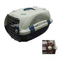 Переноска для кошек и собак PAW 20, с ковриком (57х37х33см), фото 1
