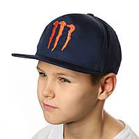 Кепка с прямым козырьком, бейсболка для мальчика.Snapback .