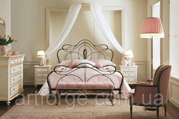 Кованая кровать ИК 036