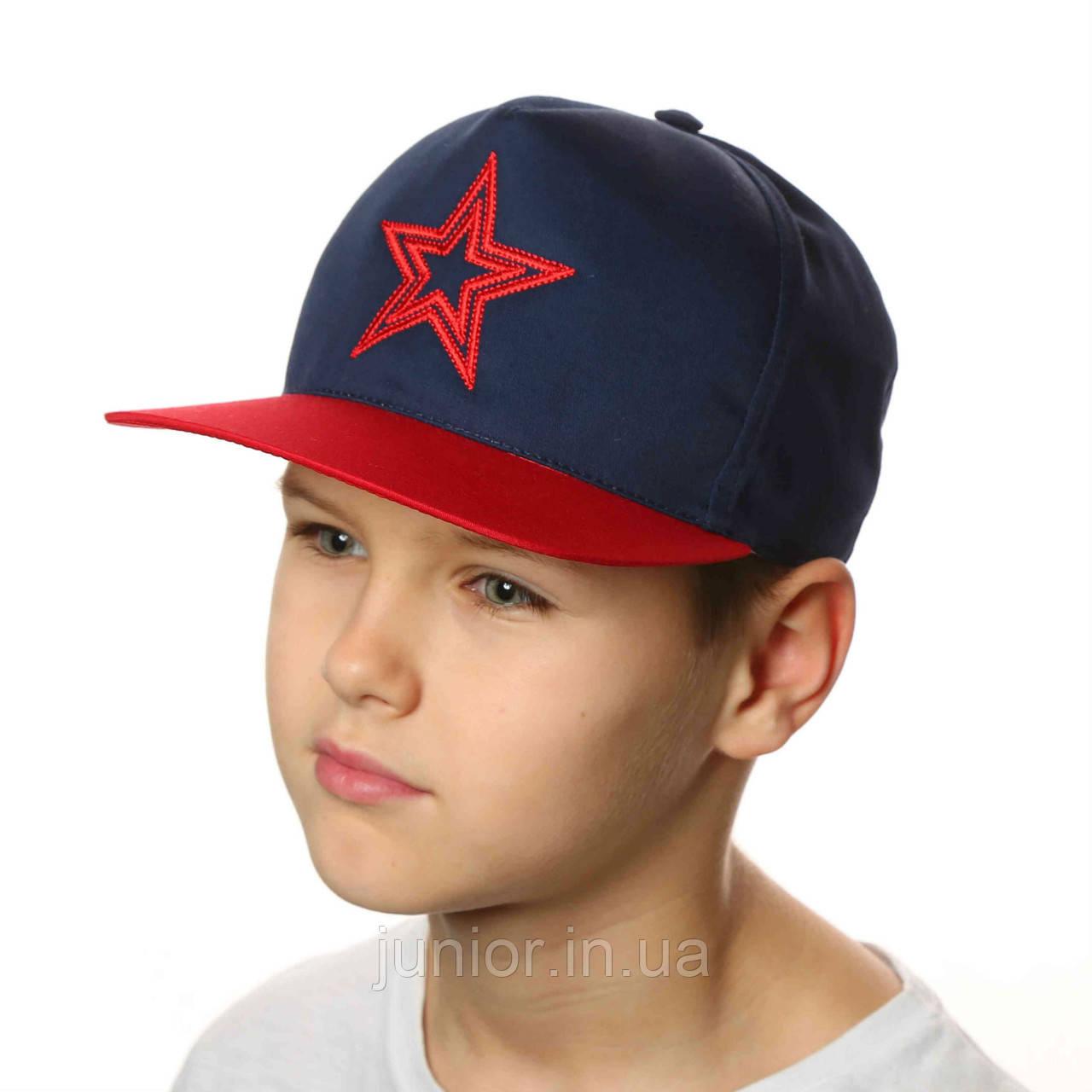 Кепка з прямим козирком, бейсболка для хлопчика.Snapback .